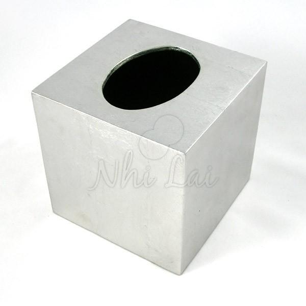 Boîte à mouchoirs laquée Mùi Soa