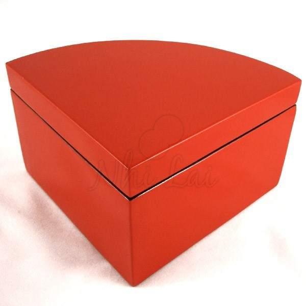 Boîte laquée rouge Phan Tu - L