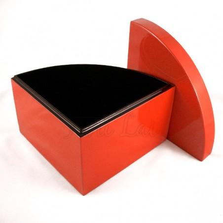 Boîte laquée rouge Phan Tu - S