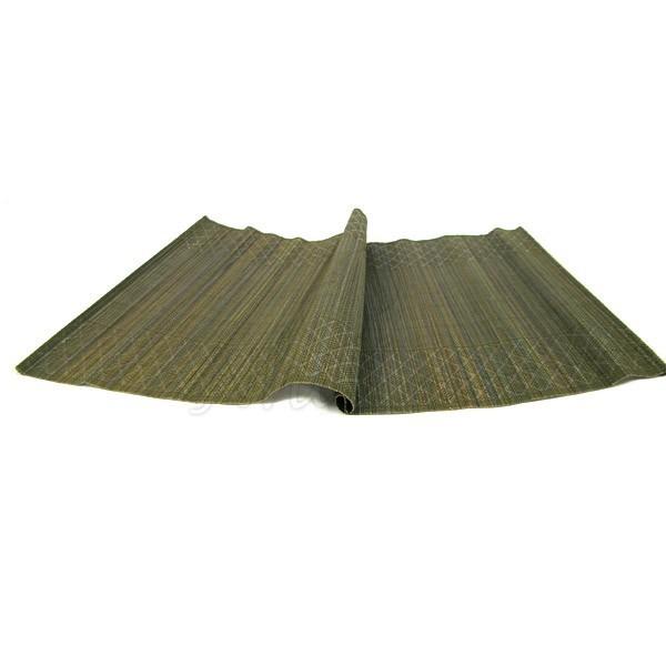 Set de table en fibre de bambou vert olive