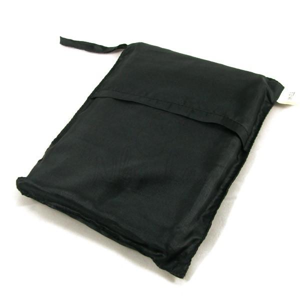 Sac de couchage individuel en soie noir