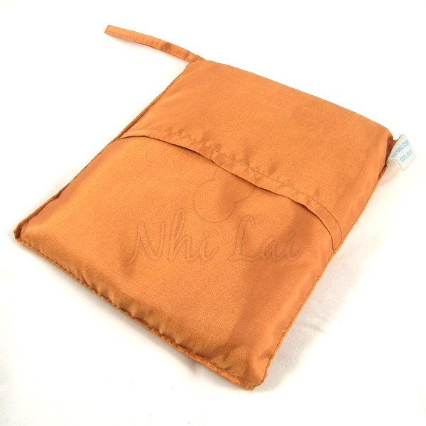 Sac de couchage individuel en soie cuivre