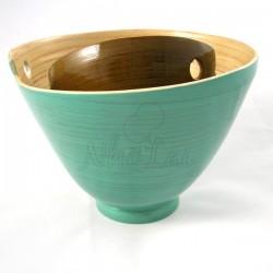 Set de bols en bambou lasurés Sung Lo