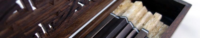 Baguettes asiatiques & couverts en bambou | Déco Zen