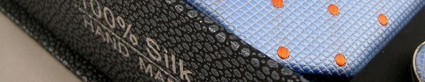 Cravates en soie naturelle du Vietnam   Collection Déco Zen